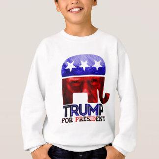 Donald Trump para o presidente 2016 com foto Agasalho