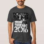 Donald Trump para o presidente Grunge Tshirts