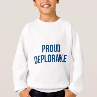 - Donald Trump - republicano deplorável orgulhoso Agasalho