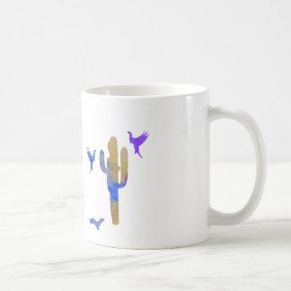 doninhas e cacto caneca de café