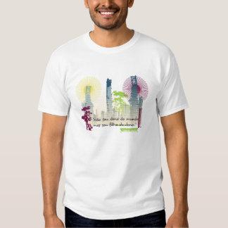 Dono do mundo t-shirts