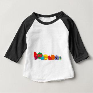 Doodle Camiseta Para Bebê