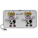 Doodle da fazenda da vaca caixinhas de som para iPhone
