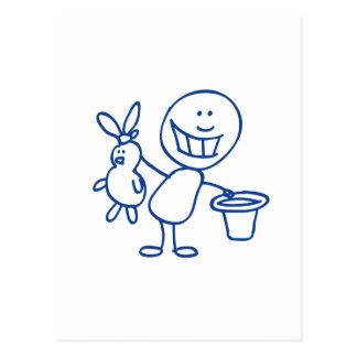 Doodle de Alfred Cartão Postal