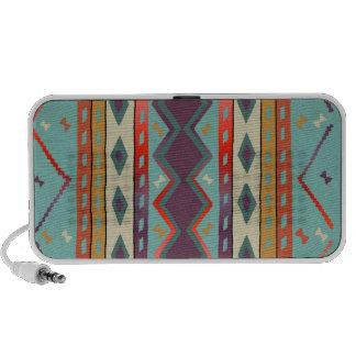 Doodle geral indiano do design do sudoeste caixinha de som para laptop