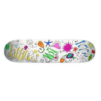 Doodleboard Shape De Skate 21,6cm