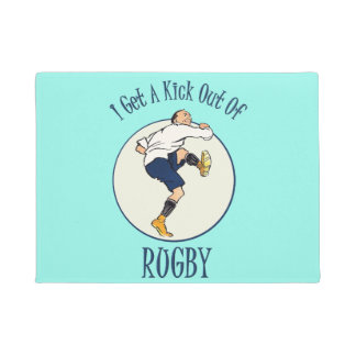 Doormat do rugby tapete