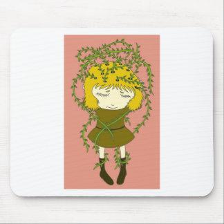 Dor de cabeça esverdeado mouse pad