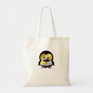 d'Or de Tux do bebê de Linux Bolsa Tote