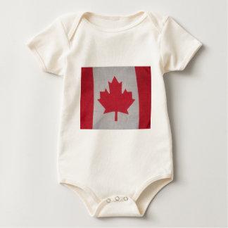 dorminhoco canadense do bebê da bandeira babador