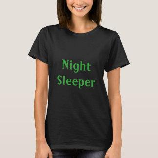 Dorminhoco da noite camiseta
