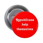 """Dos """"A ajuda ela mesma republicanos"""" abotoa-se Boton"""