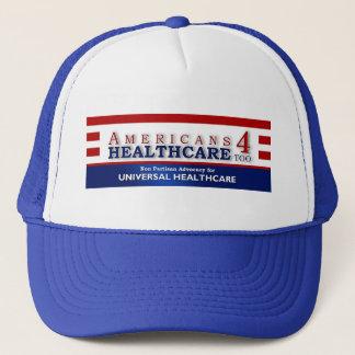Dos americanos 4 dos cuidados médicos boné