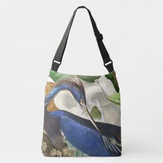 Dos animais selvagens azuis do pássaro da bolsa ajustável
