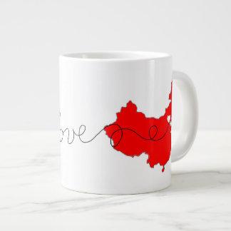 Dos EUA com a caneca de café do amor