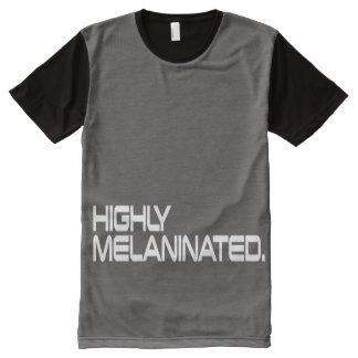 Dos homens camisa do MELANINATED ALTAMENTE