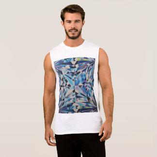 Dos homens do diamante t-shirt sem mangas do regata