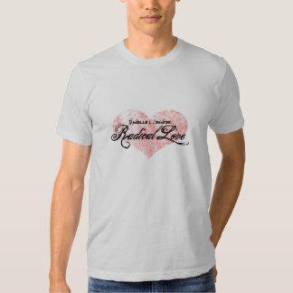 Dos homens radicais do amor de Danielle e de Camiseta