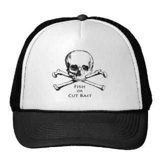 """Dos """"logotipo alegre do pirata de Roger peixes ou  Boné"""