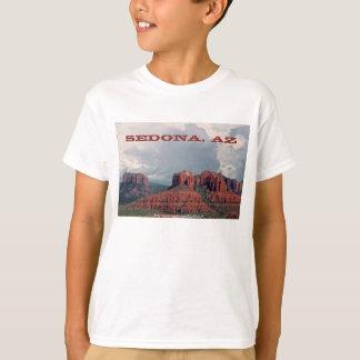 Dos miúdos vermelhos da rocha de Sedona a camisa