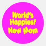 Dos mundos novos das mães dos chás de fraldas do adesivo