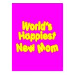Dos mundos novos das mães dos chás de fraldas do d cartao postal