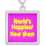 Dos mundos novos das mães dos chás de fraldas do d colares
