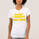Dos mundos novos das mães dos chás de fraldas do d t-shirt