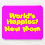 Dos mundos novos das mães dos chás de fraldas do d mousepad