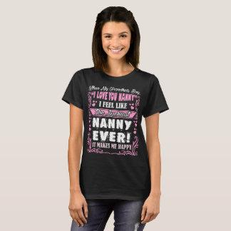 Dos netos eu te amo do baby-sitter o Tshirt o mais Camiseta