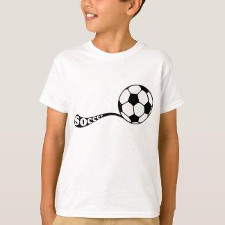 Dose do t-shirt do futebol camiseta
