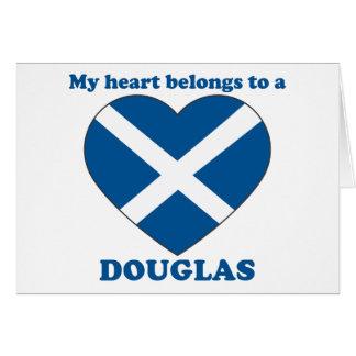 Douglas Cartão Comemorativo