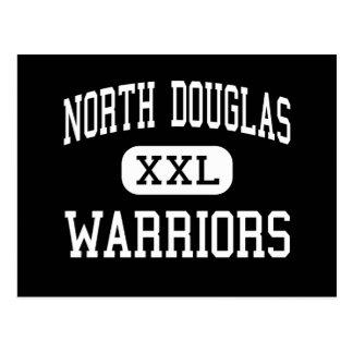 Douglas norte - guerreiros - alto - drene Oregon Cartão Postal