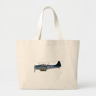 Douglas SBD-5 Dauntless Sacola Tote Jumbo