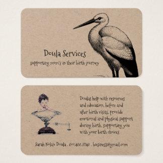 Doula presta serviços de manutenção a cartões de