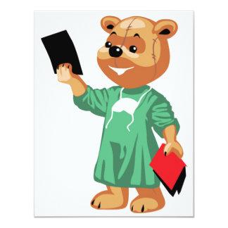 Doutor Convite do urso de ursinho