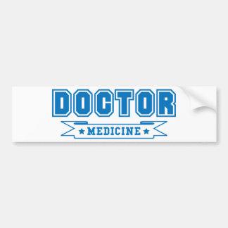 Doutor da bandeira da medicina adesivos
