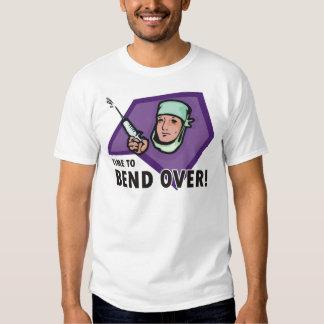 Doutor da injeção/enfermeira engraçados - tshirts