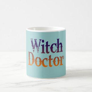 Doutor de bruxa caneca de café