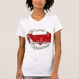 Doutor de PharmD do NATAL da farmácia T-shirt