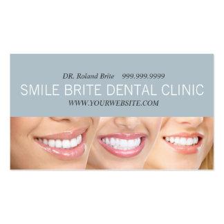 Doutor dental Dente Sorriso Cuidado da odontologia Cartões De Visita