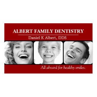 Doutor dental Sorriso Negócio da odontologia do de Modelo Cartão De Visita