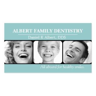 Doutor dental Sorriso Negócio da odontologia do de Cartão De Visita
