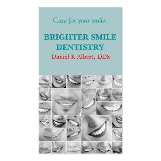 Doutor dental Sorriso Negócio da odontologia do de Modelos Cartão De Visita