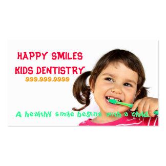 Doutor dental Sorriso Negócio da odontologia do de Cartao De Visita