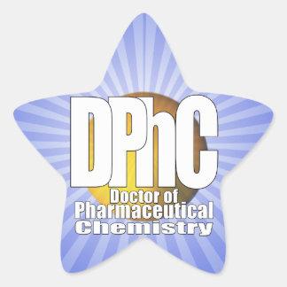 Doutor do LOGOTIPO de DPhC da química farmacêutica Adesito Estrela
