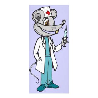 Doutor Nutrição Rato 10.16 X 22.86cm Panfleto