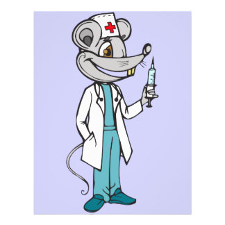 Doutor Nutrição Rato Flyer 21.59 X 27.94cm