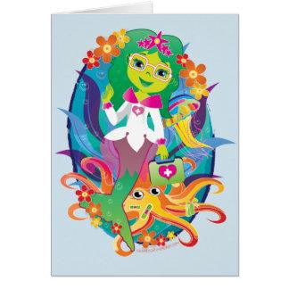 Doutor - princesa - sereia no cartão dos vidros:)