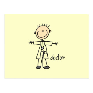 Doutor Vara Figura Cartão Postal